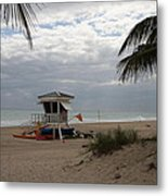 Guarded Area Metal Print
