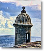 Guard Tower At El Morro Metal Print