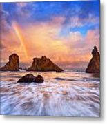Guardians Of The Sea Metal Print by Darren  White