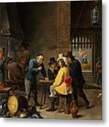 Guardroom With The Deliverance Of Saint Peter Metal Print