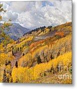 Guardsman Pass Aspen - Big Cottonwood Canyon - Utah Metal Print
