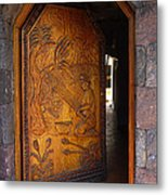 Guatemala Door 1 Metal Print