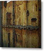 Guatemala Door 2 Metal Print