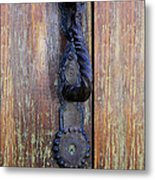 Guatemala Door Decor 4 Metal Print