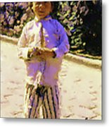 Guatemalan Little Boy Metal Print