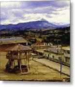 Guatemalan Roof Top Four Metal Print