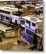 Guatemalan Roof Top Scene Metal Print