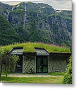Gudvangen Norway Style Sunroof Metal Print