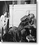 Guerin Sultan And Harem Metal Print