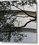 Guggenheim And Trees Metal Print