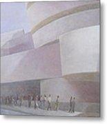 Guggenheim Museum New York 2004 Metal Print