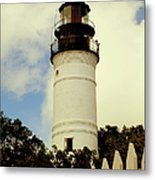 Guiding Light Of Key West Metal Print
