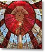 Guiding Red Metal Print
