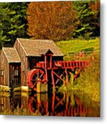 Guildhall Grist Mill Metal Print