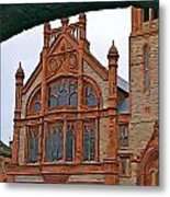Guildhall In Londonderry Northern Ireland Metal Print