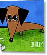 Guilty Metal Print