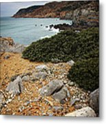 Guincho Cliffs Metal Print