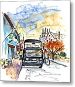 Guinness Delivery In Howth Metal Print