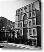 guinness trust buildings in snowsfields southwark London England UK Metal Print