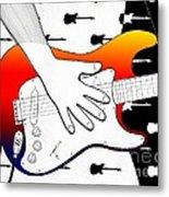 Guitar 1 Metal Print