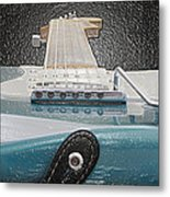 Guitar Art Metal Print