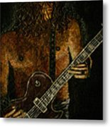 Guitar In The Zone Metal Print