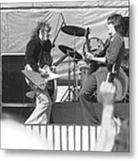 Guitar Jam At Day On The Green In Oakland 1976 Metal Print
