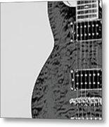 Guitar Pic 2 Metal Print