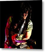 Guitar Shred Metal Print