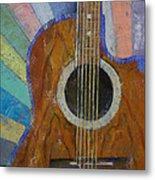 Guitar Sunshine Metal Print by Michael Creese