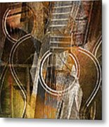 Guitar Works Metal Print