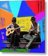 Guitars Bold And Strong Metal Print