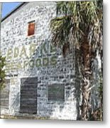 Gulf Coast Warehouse Metal Print