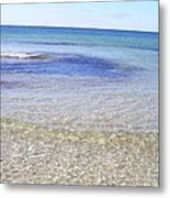 Gulf Of Mexico Beauty Metal Print