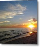 Gulf Shores Alabama Sunset2 Metal Print by LCS Art