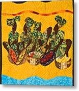 Gumbo Ladies Metal Print by Aisha Lumumba