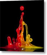 Gummy Drops Metal Print