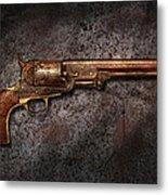 Gun - Colt Model 1851 - 36 Caliber Revolver Metal Print
