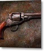Gun - Police - Dance For Me Metal Print