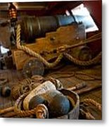 Gunnery Port Metal Print