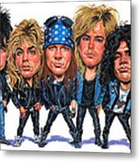 Guns N' Roses Metal Print by Art