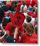 Guns-up Salute Metal Print
