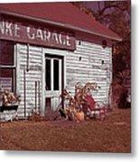 Gus Klenke Garage Metal Print