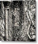 Gutter Pipe Metal Print