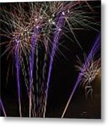 Guy Fawkes Night At Gloucester Quay Metal Print