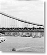 Manhattan Bridge Span Metal Print