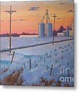 Gym Road Elevator Metal Print by Ron Bowles