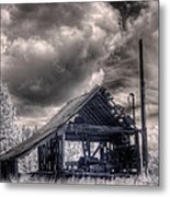 Gypsy Bay Road Lumber Mill 3 Metal Print
