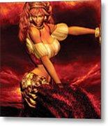 Gypsy Dancer Metal Print