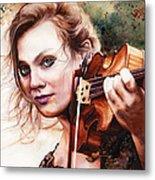 Gypsy In My Soul Metal Print